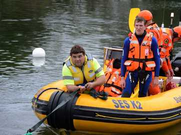 A car was pulled from the depths of the Tweed River at Fingal on Thursday, March 16.