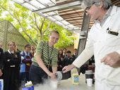 MAKING ice-cream with liquid nitrogen was just one of the slices of uni life students tasted at the University of Southern Queensland's Student Experience Day.