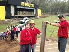 GYMPIE Apex Club hosted a community clean-up day last Saturday at the Amamoor Creek State Forest Park to continue the clean-up after the 2013 floods.