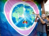 Trumpeting in Aquarius.