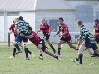 WHAT'S THE FORMULA: Taihape could not stop Ruapehu at Memorial Park last Saturday. Can Border at Rochfort Park? PHOTO/ KATHY BODLEY