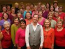 KIM Kirkman is a thorn among many roses. A founding member of the Ten Tenors, he is the new musical director of the all-woman choir, Hot Ginger Chorus.