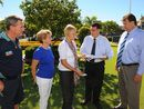A PETITION containing 4000 signatures calling for flood mitigation projects in the Burnett River has been handed over.