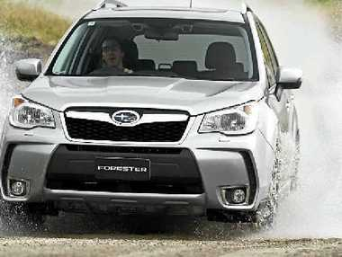 The Subaru Forester XT. 