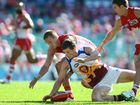 HAD he been a few centimetres shorter, Brisbane Lions player Justin Clarke may have considered a completely different career in the sky.