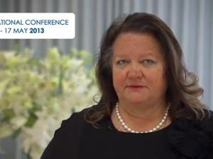 Gina Rinehart says mining industry used as govt ATM