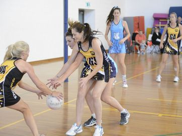 State Netball League matchs at the Yamba Sports Complex on Sunday.