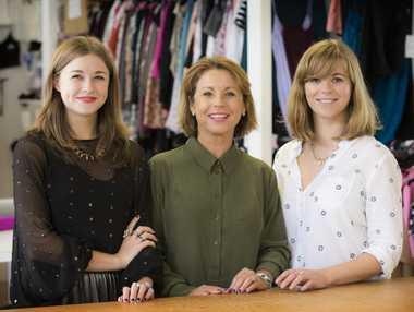 Ruby directing manager Christine Sharma (centre) believes New Zealand labels have to adapt to survive in the new online environment.