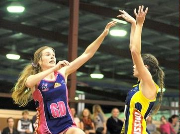 A huge crowd packed into Hervey Bay PCYC for the Wide Bay Thundercats' double header in the Queensland State Netball League.