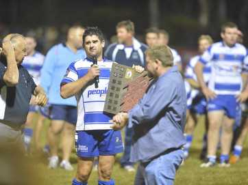 Rugby league reserves, Calliope vs Brothers for the Matt Baker trophy, at Calliope fields.