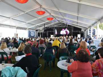 Crowds flocked to enjoy the great tastes of the Noosa Food and Wine Festival.