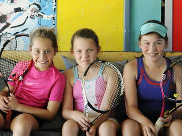 Images from the Medibank Junior Development Series at Lismore Tennis Club.