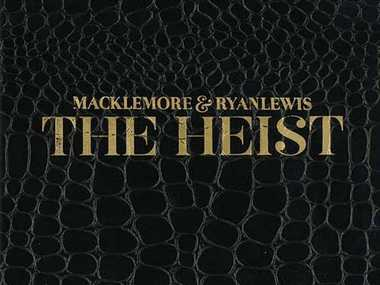 Macklemore and Ryan Lewis, The Heist album cover.