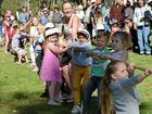 THE preschoolers successfully defended their tug-o-war championship at the Beef Meets Reef festival at Evans Head yesterday.