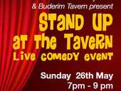 The Buderim Tavern is hosting the first Stand Up at the Tavern live comedy event. Featuring eight Stand Up Comedians and debuting Zane, a local Buderim plumber.