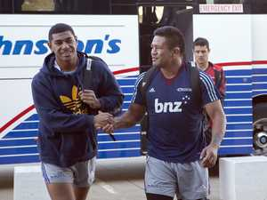 The All Blacks 38-man training squad is in town