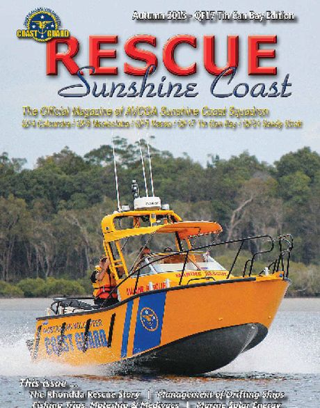 Coast Guard Rescue Sunshine Coast is up and running and ready to keep the community informed.