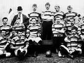 IT MIGHT seem a hard to fathom, but Ipswich used to be an Aussie Rules town. The arrival of the British Lions team in 1888 would soon change all that, however.