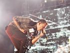Linkin Park vocalist Chester Bennington during Soundwave 2013 in Brisbane.