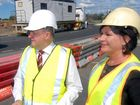 INFRASTRUCTURE and Transport Minister Anthony Albanese has cemented the Federal Government's financial support for a ring road during a visit to Mackay.