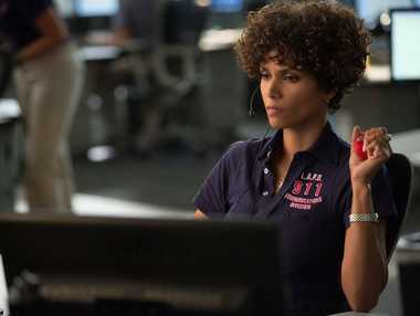 Halle Berry in a scene from the movie The Call.