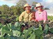BEYOND LOCAL: Stanthorpe growers Ray and Samantha Palmer are keen to share their experiences of small-scale farming with like-minded farmers from around the globe.