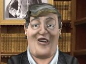 Virtually Stephen Fry 'lets Stephen broadcast himself directly to your poc