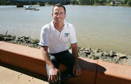 Former Olympian and Rockhampton resident Duncan Armstrong will return to his home turf tomorrow to star in a film.