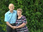 COLIN and Margaret Krause didn't have to look far to find their life partner – they were right in front of each other.