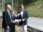 NATIONALS leader Warren Truss inspected one of the most dangerous local road blackspots when he visited Nambucca Heads with Cowper MP Luke Hartsuyker.
