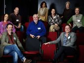 COUNCIL INITIATIVE: Byron Shire Council and representatives from the arts industry meet at the Byron Bay Community Centre for a forum.