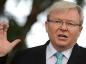 DINNER table discussions will continue to be robust when members of the Rudd household get together.
