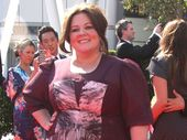 'BRIDESMAIDS' star Melissa McCarthy allegedly fired an extra from her new comedy for mistreating her own child.