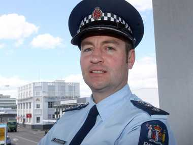 K2 WORRY: Wairarapa police area commander Inspector Brent Register has said psychotic episodes are becoming more prevalent and something needs to be done. PHOTO/LYNDA FERINGA