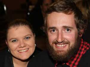 Kylie and Jack Lees dine at Club Glenvale.