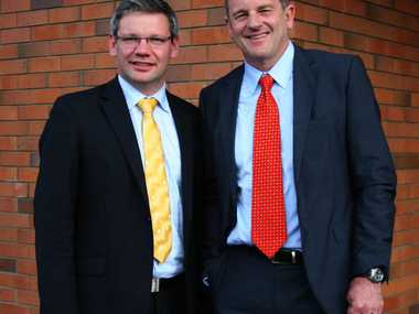 "UNITED FRONT: Labour leader David Shearer and Palmerston North MP Iain Lees-Galloway spoke about the party's promise ""to make a difference in people's lives""."