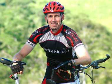Gympie's Marc Morrow will Ride to Conquer Cancer in August.
