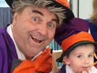 EVEN the Mad Hatter got in on the act to raise money for Cancer Council Queensland on Thursday at Australia's Biggest Morning Tea functions in Ipswich.