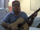 "THE homeless victim of last year's Miami cannibal attack is now ""living happily"" in hospital, where he's learning to play the guitar while continuing treatment."