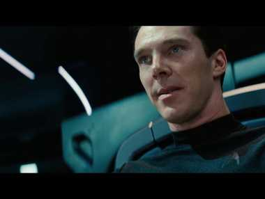 BETTER THAN YOU: John Harrison (Benedict Cumberbatch) prepares to crank his villainy up another notch in Star Trek: Into Darkness.