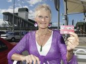 "SENIOR citizen Thea Fietje was left shocked and embarrassed after a Go Card inspector demanded she get off a train because of a ""glitch"" in the scanning system."
