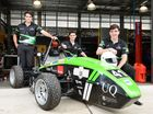 STUDENTS at St Edmund's College could not help but be distracted when Conor Duxbury rolled in with his new set of wheels.