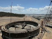 A GIANT gas project under construction near Gladstone has now eclipsed 11,000 workers after hiring at least 15 people every day for the past six months.
