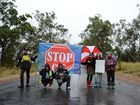 THREE shots have reportedly been fired at the Tara protest against coal seam gas this morning.