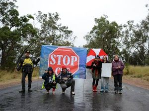 Coal seam gas blockade