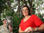 Team Koala president Jenny Hayes hopes landholders will support Tweed Shire Council's Koala Connections Project