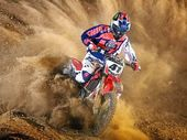 "GOING UNDER THE KNIFE: Motocross rider Ford Dale's left knee has been ""popping out"" frequently in the past two weeks."