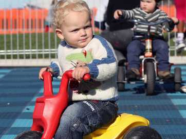 The much-awaited Kids Capital Junior Bike Track along Marine Parade, Napier was officially opened yesterday. Parents took their children down to ride the track specifically built for kids learning to ride their bike.