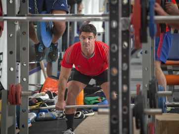 The All Blacks' training camp at Mount Maunganui concludes today after three days of indoor training, gym sessions and team strategy meetings.