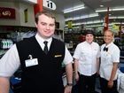 Store manager Scott Perel with Lenards manager Veronica Webb and perishables manger Jocelyn Hare at the Drakes Glenmore IGA in Rockhampton. Photo Sharyn O'Neill / The Morning Bulletin
